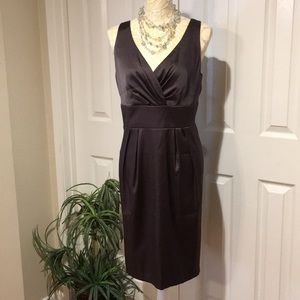 Gorgeous Collection Dressbarn Brown Dress Party 16